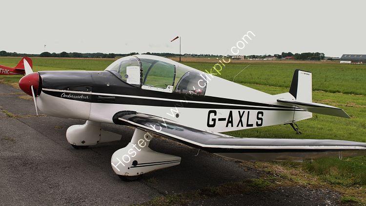 Ref-JDL14 Jodel (SAN) DR105A Ambassadeur G-AXLS Dunkerswell Aerodrome Devon Gt Britain 2012 (C)RLT Aviation And Maritime Images 2018 opt