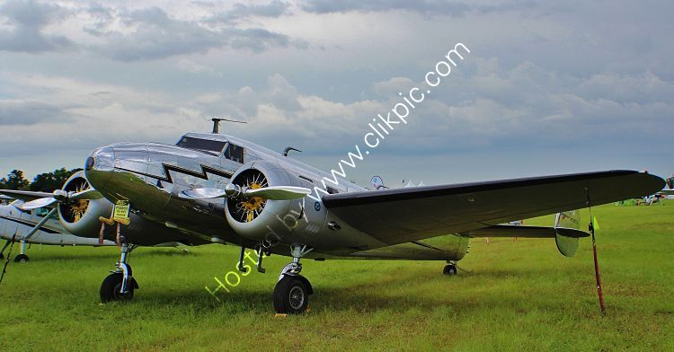 Ref-L12-1 Lockheed 12A Private Owner NC2072 Lakeland Airport Florida USA 2015 (C)RLT Aviation And Maritime Images 2018 opt