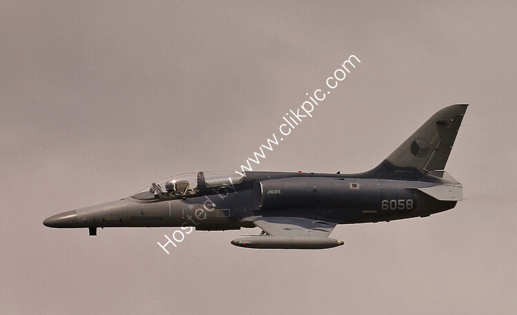 Ref-L159-5 Aero Vodochody L159 Alca Czech Air Force 6058 RAF Fairford Gloucestershire GB 2015 (C)Copyrights Reserved - RLT-Aviation And Maritime Images 2015