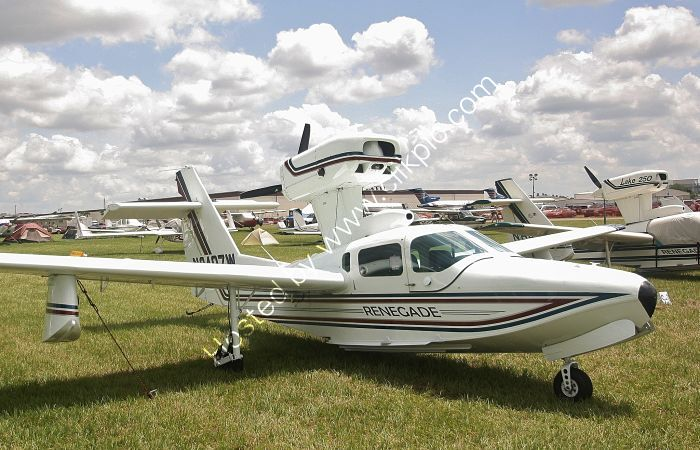Ref LA2-1 Lake LA250 Renegade N89407W Lakeland Airport Florida USA 2015 (C)RLT Aviation And Maritime Images 2018 opt
