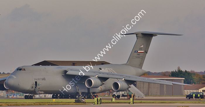 Ref-LC5-2 Lockheed C5M Galaxy USAF 87-0027 RAF Mildenhall Suffolk Gt Britain 2017 (C)RLT Aviation And Maritime Images 2018 opt