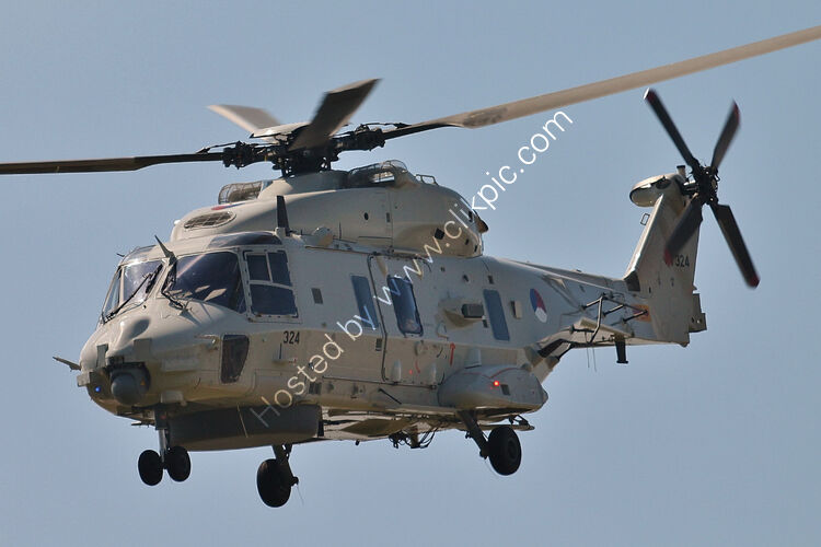 Ref-N90-7 Airbus NH-90 Royal Netherlands Navy 17-1324 RNAS Yeovilton Somerset Gt Britain 2015 (C)Copyrights Reserved - RLT-Aviation And Maritime Images 2021