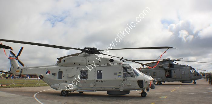 Ref-NH90-2 NH Industries NH90 Royal Netherlands Navy N 175 RNAS Culdrose Cornwall Gt Britain 2013 (C)RLT Aviation And Maritime Images  2020 opt