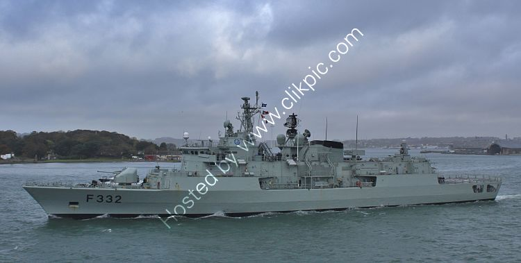 Ref-NRP3 NRP Corte Real F332 Frigate Portugese Navy Leaving RN Devonport Dockyard Plymouth Devon GB 2020 (C)RLT Aviation And Maritime Images 2020 opt