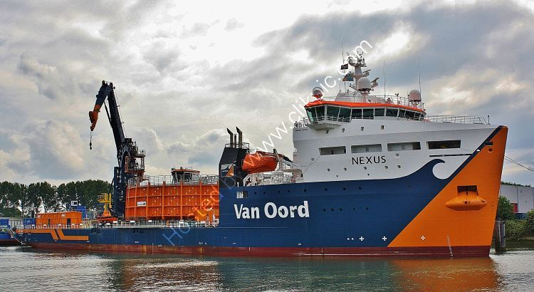 Ref-OSV19 Nexus Offshore Support Vessel Port Of Rotterdam Holland 2015 (C)RLT Aviation And Maritime Images 2018 opt