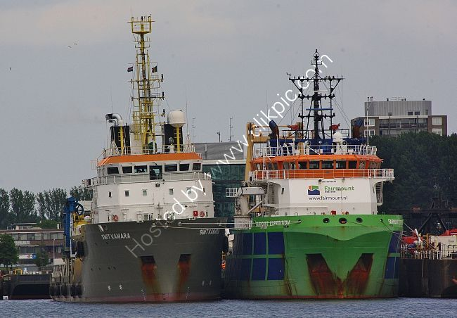 Ref-OSV24 Smit Kamera & Fairmount Expedition Offshore Support Vessels Port Of Rotterdam Holland 2016 (C)RLT Aviation And Maritime Images 2018 opt