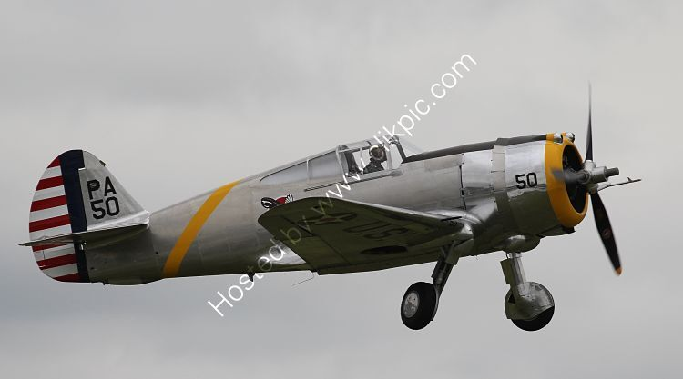 Ref-P36-3 Curtiss P36C Hawk USAAC G-CIXJ The Fighter Collection Duxford Gt Britain 2016 (C)Copyrights Reserved - RLT-Aviation & Maritime Images 2021 opt
