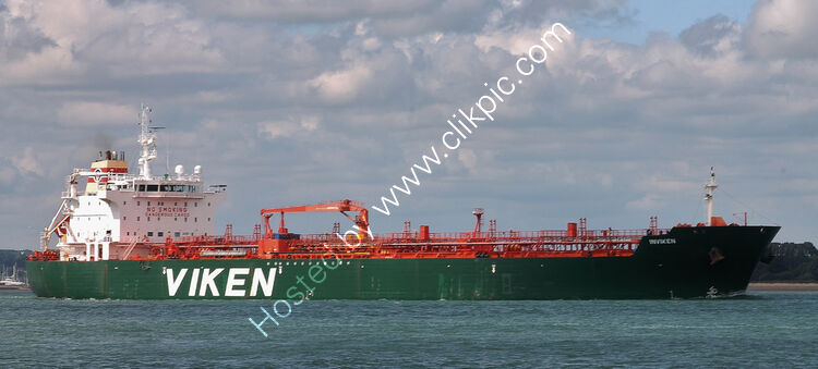 Ref-PVT469 Inviken Tanker Southampton Water Hampshire Gt Britain 2020 (C)RLT Aviation And Maritime Images 2020
