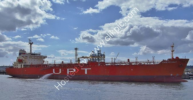 Ref-PVT483 Cape Bradley Tanker Fawley Southampton Water Hants Gt Britain 2020 (C)RLT Aviation And Maritime Images 2020 opt
