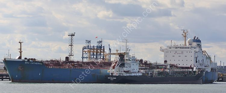 Ref PVT4 Bro Catherine and Whitchallenger Tankers Fawley Oil Refinery Hampshire Gt Britain 2010 (C)RLT Aviation And Maritime Images 2018