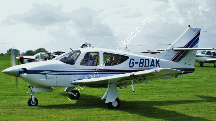 Ref-R112-2 Rockwell R112A Commander G-BDAK Sywell Aerodrome Northamptonshire Gt Britain 2013 (C)RLT Aviation And Maritime Images 2018