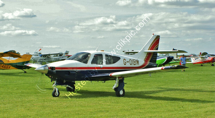Ref-R114-4 Rockwell R114 Commander G-OIBM Sywell Aerodrome Northamptonshire Gt Britain 2013 (C)RLT Aviation And Maritime Images 2018