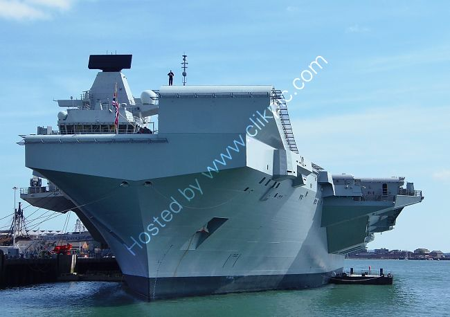 Ref-RNGB(ACC)15 HMS Prince Of Wales RO9 Aircraft Carrier Royal Navy RN Dockyard Portsmouth Hants GB 2020 (C)RLT Aviation And Maritime Images 2020 opt