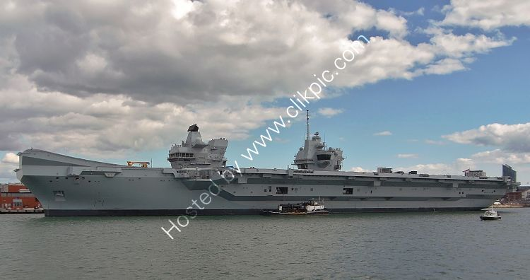 Ref-RNGB(ACC)36 HMS Queen Elizabeth RO8 Aircraft Carrier Royal Navy RN Dockyard Portsmouth Hants GB 2020 (C)RLT Aviation And Maritime Images 2020 opt
