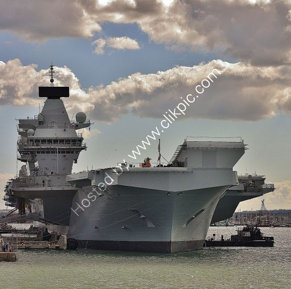 Ref-RNGB(ACC)43 HMS Queen Elizabeth RO8 Aircraft Carrier Royal Navy RN Dockyard Portsmouth Hants GB 2020 (C)RLT Aviation And Maritime Images 2020 opt