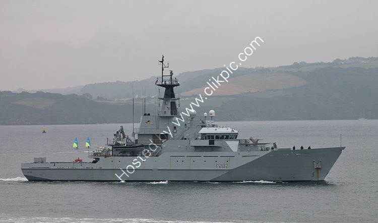 Ref-RNGB(MCM)12 HMS Severn P282 River Class MCM Vessel Plymouth Sound Devon Gt Britain 2020 (C)RLT Aviation And Maritime Images 2020 opt