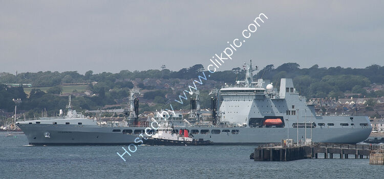 Ref-RNGB(TKS)56 RFA Tidespring A136 Royal Navy Tanker-Stores Replenishment Vessel Plymouth Sound Plymouth Devon GB 2020 (C)RLT Aviation And Maritime Images-2020
