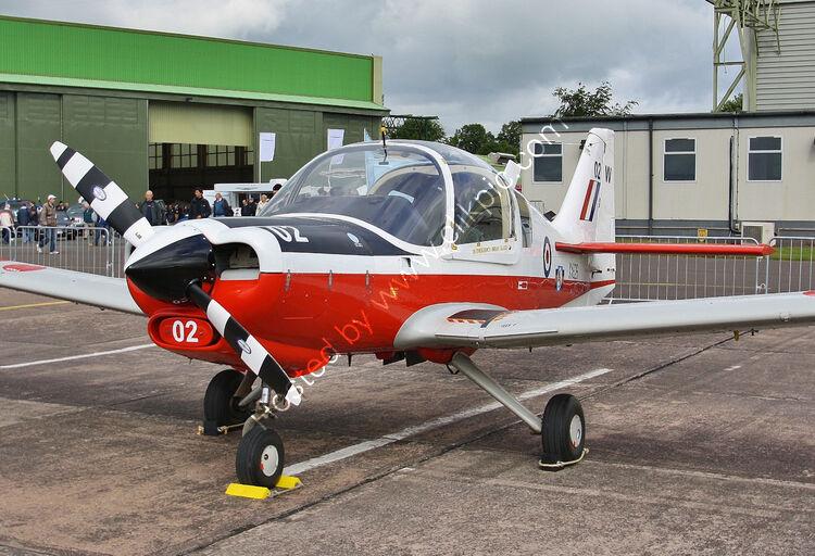 Ref-SAB-6 Scottish Aviation 120-121 Bulldog XX626 G-CDVV RAF Cosford Shropshire Gt Britain 2018 (C)RLT Aviation And Maritime Images-2018