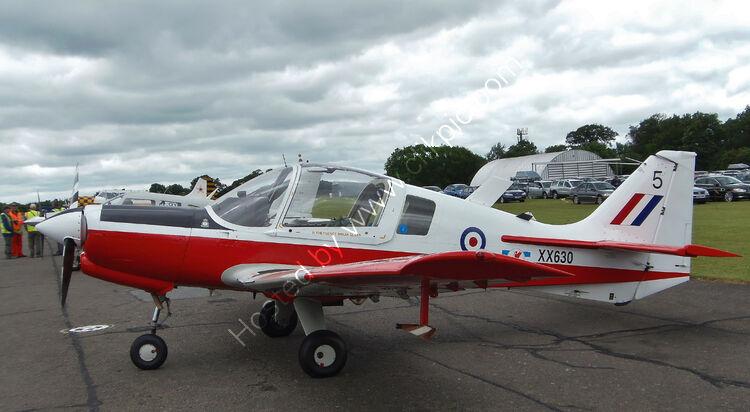 Ref-SAB13 Scottish Aviation 120-121 Bulldog XX630 G-SIJW North Weald Essex Gt Britain 2012 (C)RLT Aviation And Maritime Images-2012