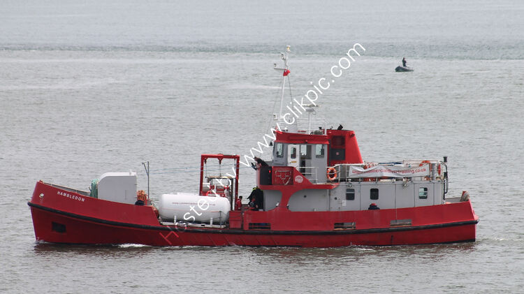 Ref-TDR38 Hambledon Diving Tender (Ex RN Loyal Class Fleet Tender) Plymouth Sound Plymouth Devon GB-2021 (C)Copyright Reserved RLT-Aviation And Maritime Images 2021