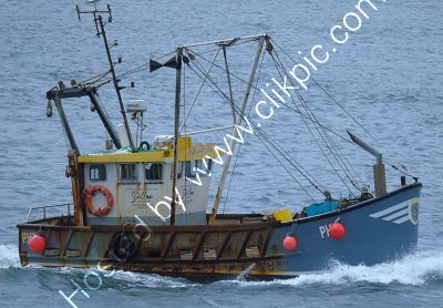 Ref-TPH-1 Sidney Rose PH 79 Trawler River Tamar Plymouth Devon Gt Britain 2020 (C)RLT Aviation And Maritime Images 2020