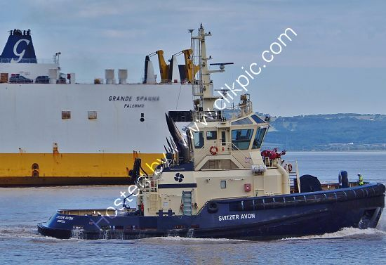 Ref-TSV-279 Svitzer Avon Tug Port Of Bristol Somerset Gt Britain 2020 (C)RLT Aviation And Maritime Images 2020 opt