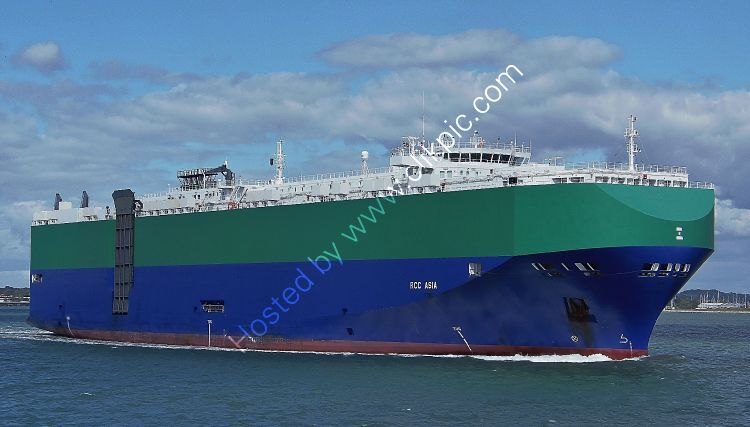 Ref-VCR189 RCC Asia Truck And Vehicle Carrier Southampton Water Hampshire Gt Britain 2020 (C)RLT Aviation And Maritime Images 2020 opt