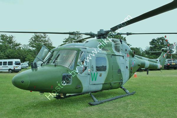 Ref-WLX24 Westland Lynx AH7 British Army XZ652 Goodwood Aerodrome West Sussex Gt Britain 2010 (C)RLT Aviation And Maritime Images 2018 opt
