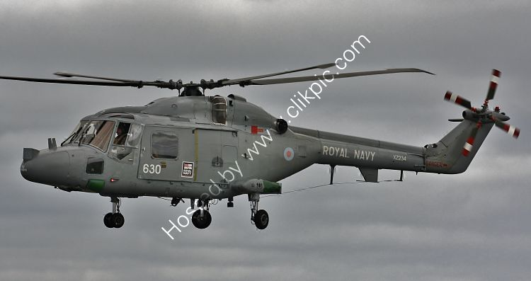 Ref-WLX71 Westland Lynx HAS3 Royal Navy XZ234 RNAS Culdrose Cornwall Gt Britain 2010 (C)RLT Aviation And Maritime Images 2018 opt