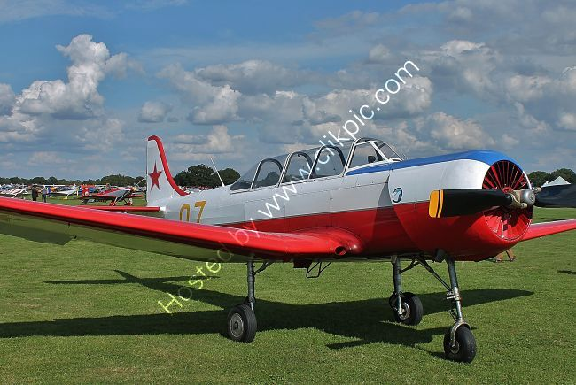 Ref-YK18-5 Yakolev C18A 07 G-BMJY Private Owner Sywell Aerodrome Northamptonshire,Gt Britain 2017 (C)RLT Aviation And Maritime Images 2018 opt