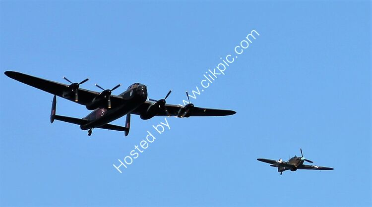 Ref ALT42 Avro Lancaster MK10 KB726 C-GVRA RAF/Canadian Warplane Hereitage Museum Dawlish Airshow Gt Britain 2014 (C)RLT Aviation And Maritime Images 2018