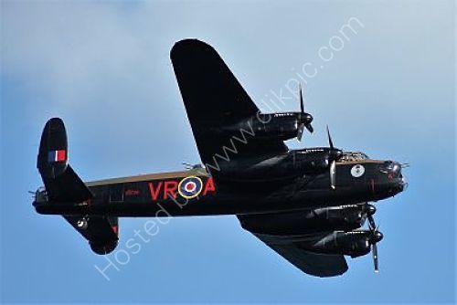 Ref ALT 35 Avro Lancaster MK 10 RAF/Canadian Warplane Heritage Museum Dawlish Airshow Devon Gt Britain 2014 (C)RLT Aviation And Maritime Images 2018