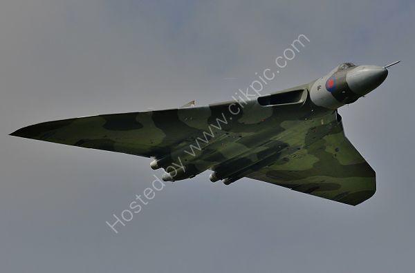 Ref AVL16 Avro Vulcan B2 XH558 G-VLCN RAF/Vulcan To The Sky Trust RNAS Culdrose Gt Britain 2010 (C)RLT Aviation And Maritime Images 2018