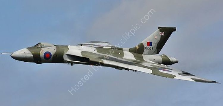 Ref AVL3 Avro Vulcan B2 XH558 RAF/Vulcan To The Sky Trust RNAS Culdrose Gt Britain 2010 (C)RLT Aviation And Maritime Images 2018