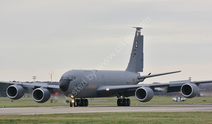 Ref B707-46 Boeing  KC135R In Flight Refueling Tanker USAF Europe 61-0288 RAF Mildenhall Suffolk Gt Britain 2017 (C)RLT Aviation And Maritime Images 2018