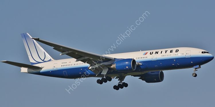 Ref B772-2 Boeing 777-222ER N783UA United Airlines London Heathrow Airport London Gt Britain 2010 (C)RLT Aviation And Maritime Images 2018