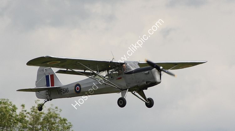 Ref BGT15 Beagle A61 Terrier (Auster Conversion) VF516 G-ASMZ RAF Private Owner Dunkerswell Aerodrome Devon Gt Britain 2012 (C)RLT Aviation And Maritime Images  2018 opt