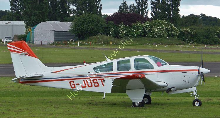 Ref BON33-2 Beech F33A Bonanza North Weald Aerodrome Essex Gt Britain 2013 (C)RLT Aviation And Maritime Images 2018 opt