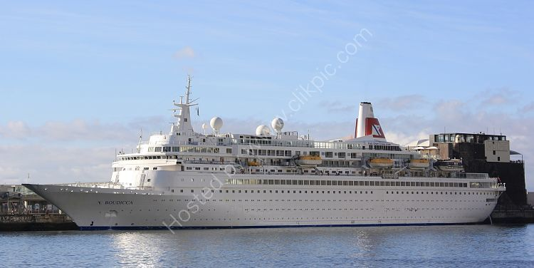 Ref C-L FO-2 Boudicca Fred Olsen Line Cruise Liner Port Of Funchal Madeira 2012 (C)RLT Aviation And Maritime Images 2018