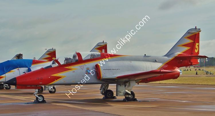 Ref C101-2 CASA C101 Aviajet Spanish Air Force 79-13 RAF Fairford Gloucestershire Gt Britain 2015 (C) All Copyrights Reserved 2021 RLT-Aviation And Maritime Images opt (1)
