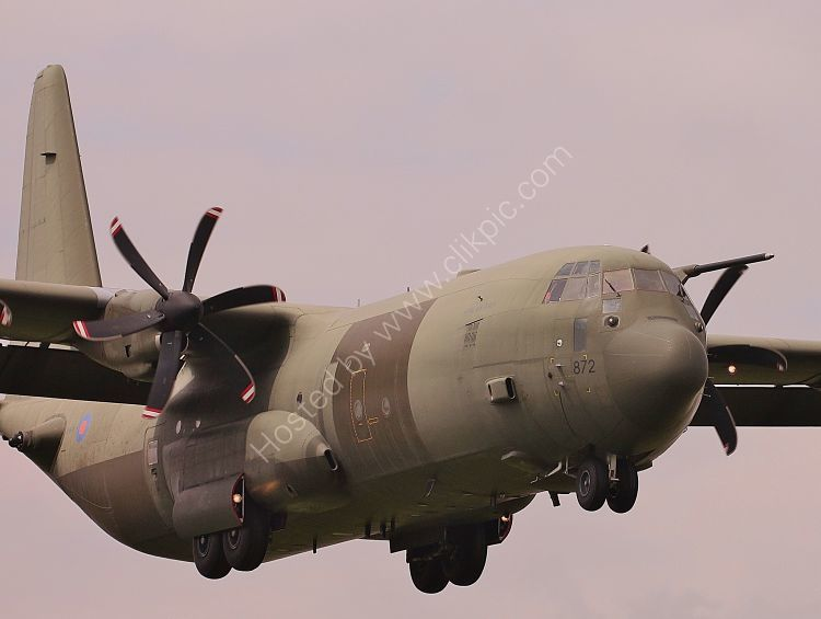Ref C130-49 Lockheed C130 C4 Hercules RAF ZH872 RAF Brize Norton Oxfordshire Gt Britain 2013 (C)RLT Aviation And Maritime Images 2018