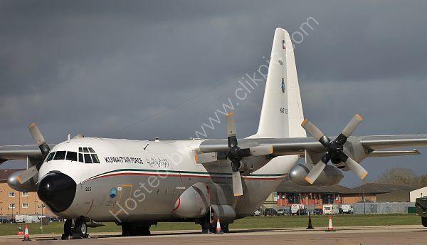 Ref C130 23 Lockheed L100 Hercules Srs3 Kuwait Air Force RAF Brize Norton Gt Britain 2013 (C)RLT Aviation And Maritime Images 2018