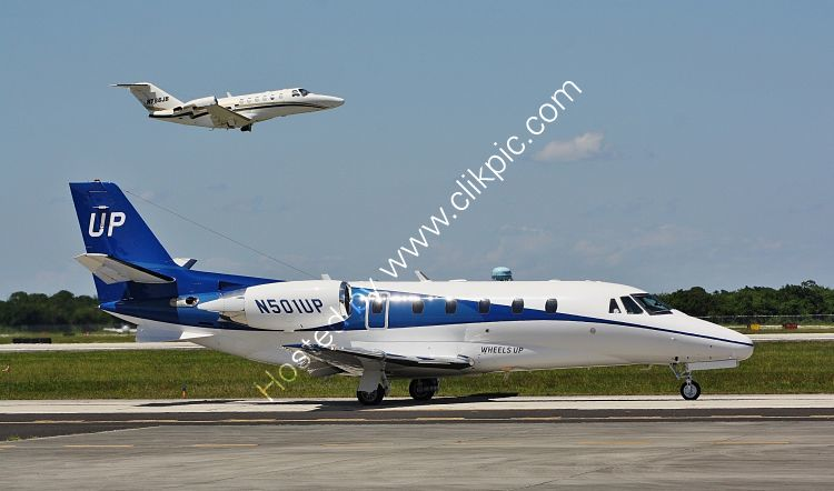 Ref CEJ27 Cessna C560XL Citation N501UP Vero Beach Airport Florida USA 2015 (C)RLT Aviation And Maritime Images 2018 opt