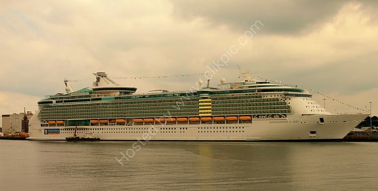 Ref CL-RC26 Independance Of The Seas Royal Caribbean Cruise Line Port Of Southampton Hampshire Gt Britain 2014 (C)RLT Aviation And Maritime Images 2018