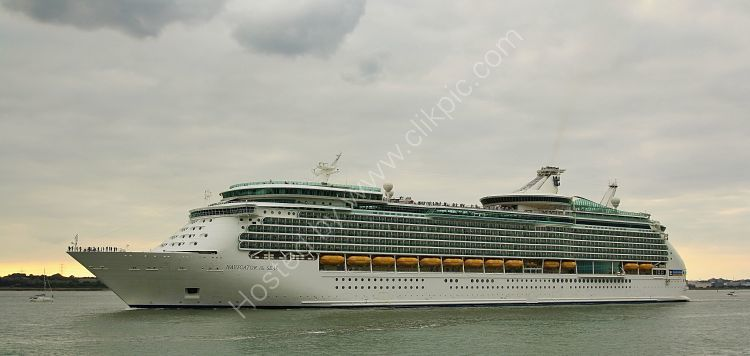 Ref CL-RC39 Navigator Of The Seas Royal Caribbean Cruise Line Southampton Water Hampshire Gt Britain 2016 (C)RLT Aviation And Maritime Images 2018
