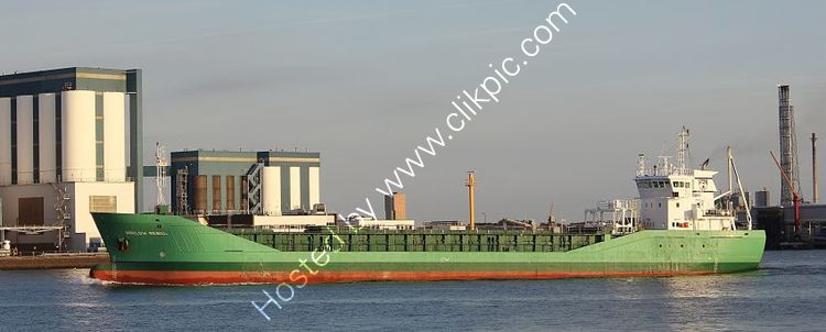 Ref CSSC-105 Arklow Rebel General Cargo Ship Entering Rotterdam Docks Holland 2017 (C)RLT Aviation And Maritime Images 2018 opt