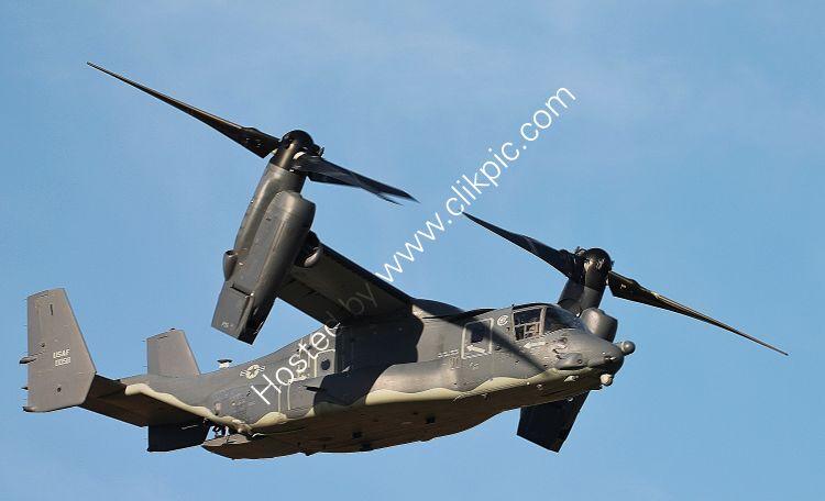 Ref CV22-27 Bell Boeing CV22 Osprey USAF 110058 RAF Mildenhall Suffolk GB 2017 (C)RLT Aviation And Maritime Images 2018 opt