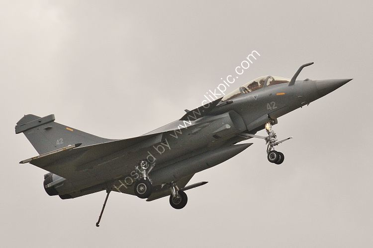 Ref DASR-5 Dassault  Rafale M Aeronavale (French Navy) 42 RNAS Yeovilton Somerset Gt Britain 2015 (C)RLT Aviation And Maritime Images 2018 opt
