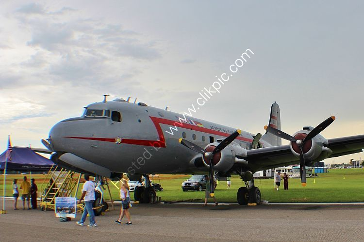 Ref DC4-12 Douglas C54E Skymaster N500EJ Berlin Airlift Historical Foundation EAA Lakeland Airport Florida USA 2015 (C)RLT Aviation And Maritime Images 2018 opt