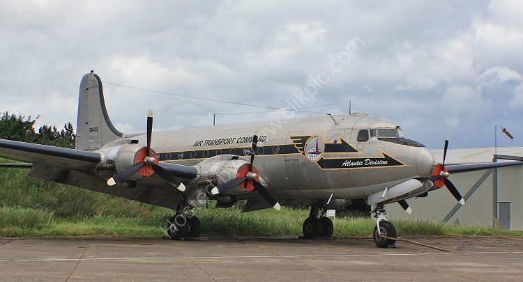 Ref DC4-17 Douglas C54Q 56498 N44914 Private Owner North Weald Aerodrome Essex Gt Britain 2013 (C)RLT Aviation And Maritime Images 2018